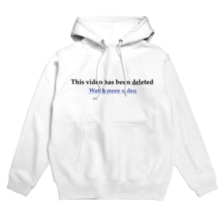 This video has been deleted Hoodies