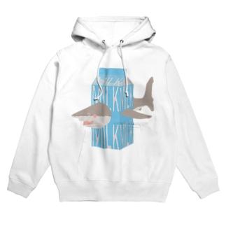 サメ ミルク Hoodies