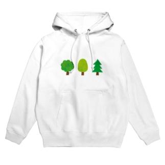 木の佇まい Hoodies