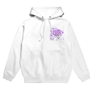 ayakaのhappiness Hoodies