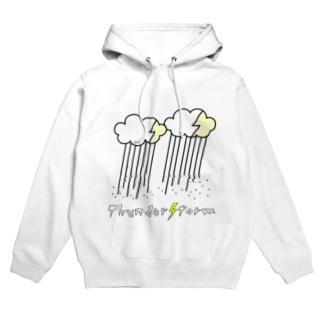ThunderStorm(ブラック) Hoodies