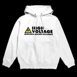 highvoltagewearsのロゴA Hoodies