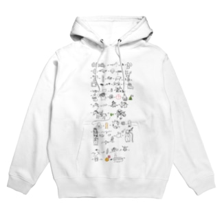 戦いは熾烈を極めていく Hoodies
