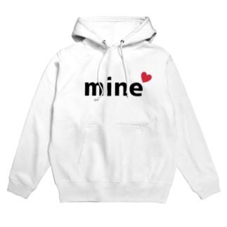 mine(マイン) Hoodies