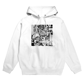kio photo worksのShibuya wall photo Hoodies