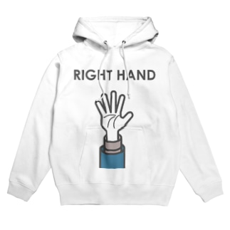 RIGHT HAND Hoodies