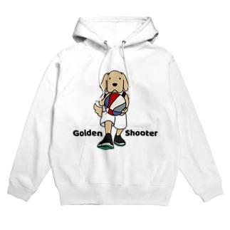 バスケット(両面) Hoodies