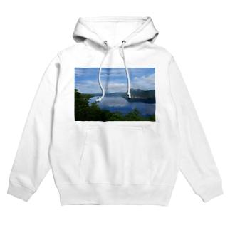 夢の摩周湖 Hoodies