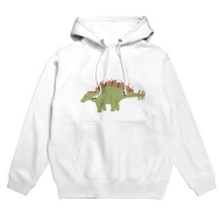 ステゴサウルス Hoodies