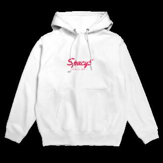 Spacy5 Official OnlineのSpacy5 シグネチャーロゴ Hoodies