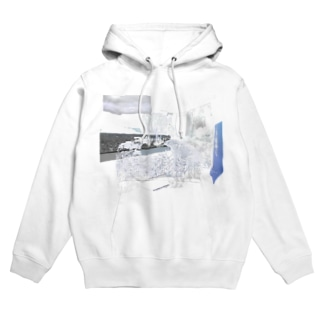 silver interior Hoodies