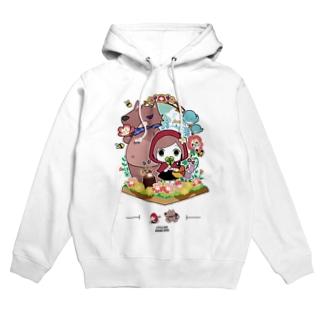 『赤ずきんちゃん』パーカー オリジナルデザイン パーカー Hoodies