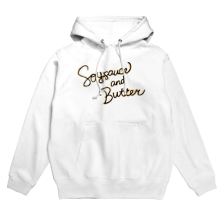 Soy sauce and Butter a.k.a バター醤油 Hoodies