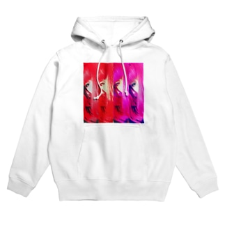 pink hair  Hoodies