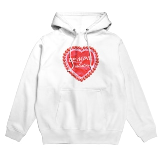 BE MINE valentine red Hoodies