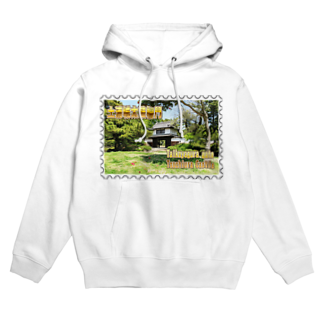 FUCHSGOLDの日本の城:土浦城★白地の製品だけご利用ください!! Japanese castle: Tsuchiura castle★Recommend for white base products only !! Hoodies