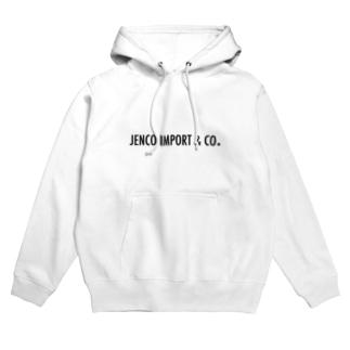JENCO IMPORT & CO.のJENCO 2019SS_LOGO Hoodies