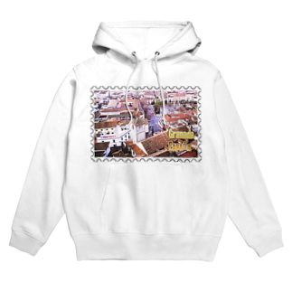 FUCHSGOLDのスペイン:グラナダ旧市街の夕景★白地の製品だけご利用ください!! Spain: Old area of Granada★Recommend for white base products only !! Hoodies
