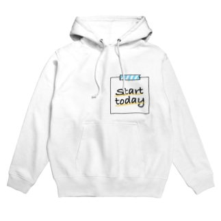 Start today  Hoodies