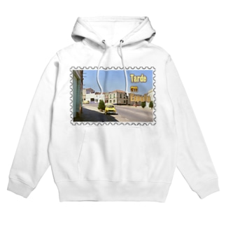 FUCHSGOLDのスペイン:村の昼下がり★白地の製品だけご利用ください!! Spain: Afternoon of village★Recommend for white base products only !! Hoodies