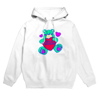 valentine bear🧸 Hoodies