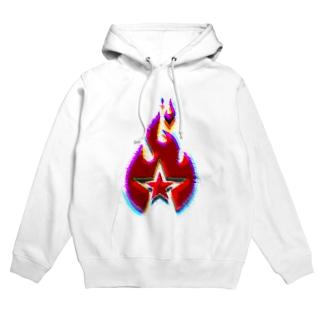 FIRE STAR Hoodies
