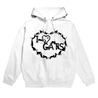 I ♡ CATS Hoodies