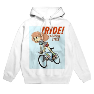 !RIDE! (CARTOON STYLE) Hoodies