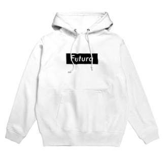 Futura White Hoodies