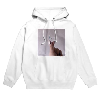 luv. heart Hoodies