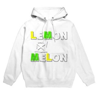 レモンとメロン Hoodies