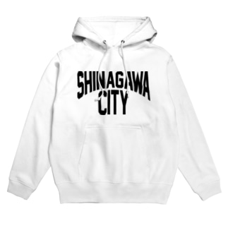 SHINAGAWA CITY(BK) Hoodies