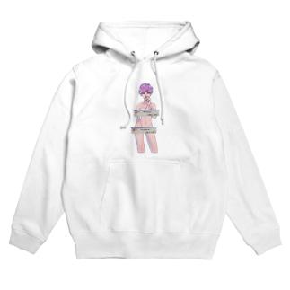 cigarette girl hoodie Hoodies