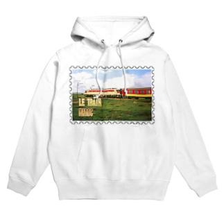 FUCHSGOLDのモロッコ:列車★白地の製品だけご利用ください!! Morocco: Train★Recommend for white base products only !! Hoodies