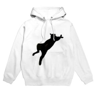 うちの猫:名前はボス、呼び方はけっけ Hoodies