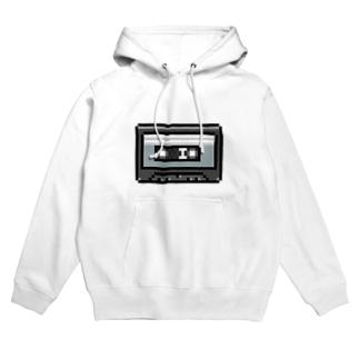 cassette-tape Hoodies