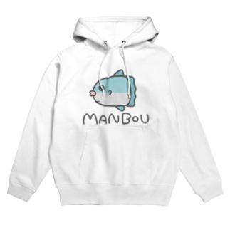 MANBOU(色付き) Hoodies