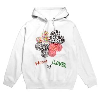 Heart of Clover Hoodies