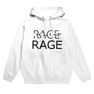 R-AGE-white Hoodies