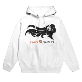CarolGaming(黒/橙) Hoodies