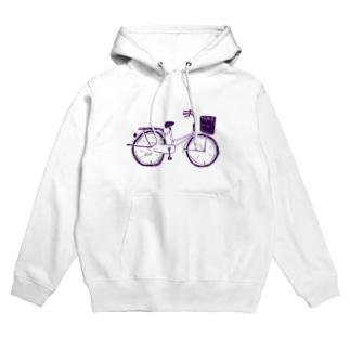 自転車デザイン「ママチャリ」 Hoodies