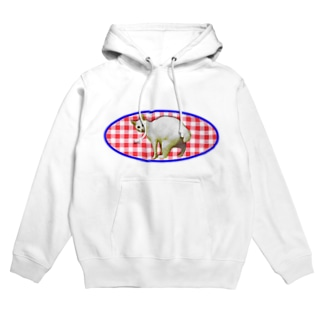 GINGAM NEKO Hoodies