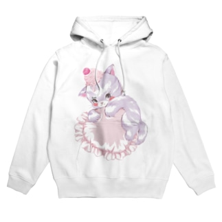 Melty Cat Hoodies