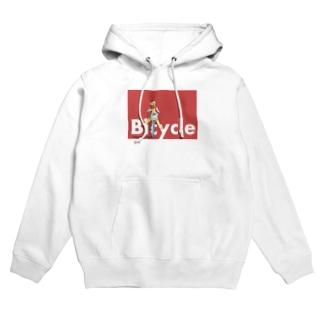 Bicycleなポップ Hoodies