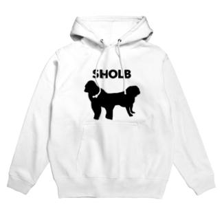 Sholb ビックロゴパーカー Hoodies