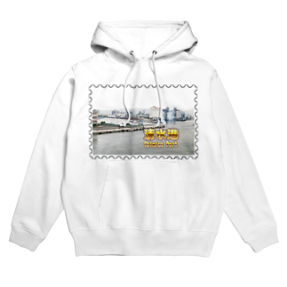 FUCHSGOLDの静岡県:清水港★白地の製品だけご利用ください!! Shizuoka: Shimizu Port★Recommend for white base products only !! Hoodies