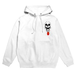 マメゾウ(Skeleton編) Hoodies