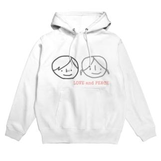 LOVE &PEACE Hoodies