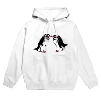 三角フンボルトペンギン(なかよし) Hoodies