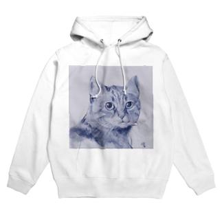 猫M1 Hoodies